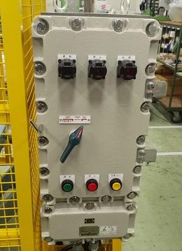 耐圧防爆形制御ボックス